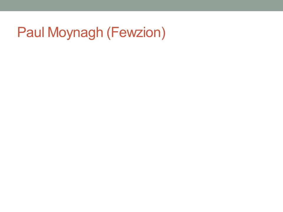 Paul Moynagh (Fewzion)