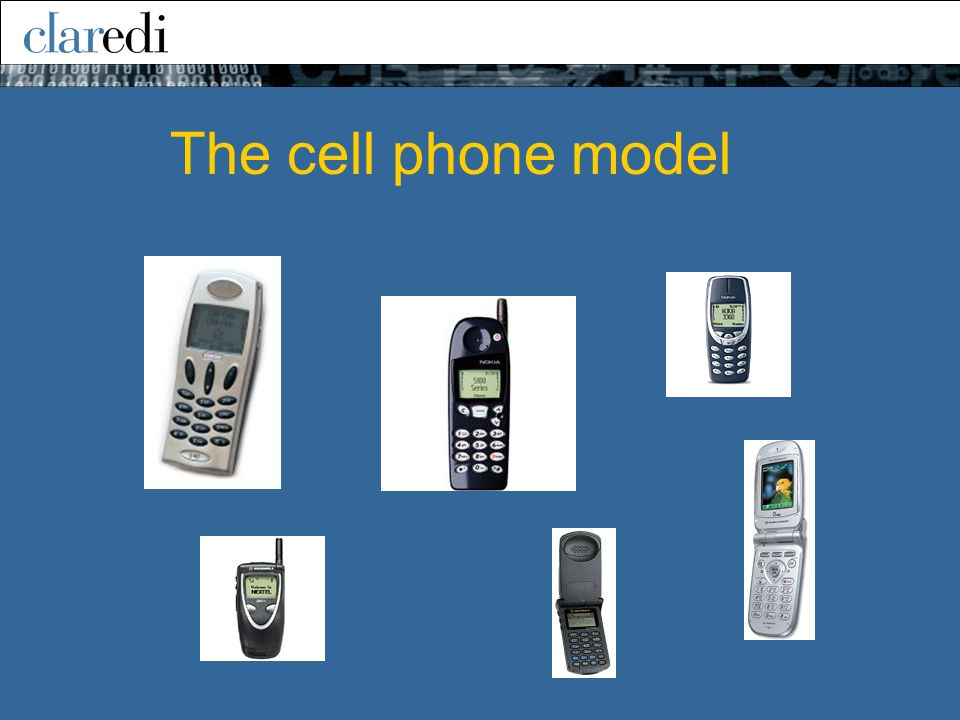 The cell phone model