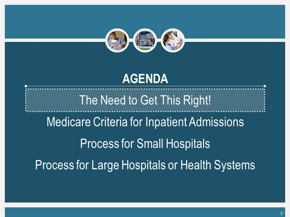 3 AGENDA The Need to Get This Right.
