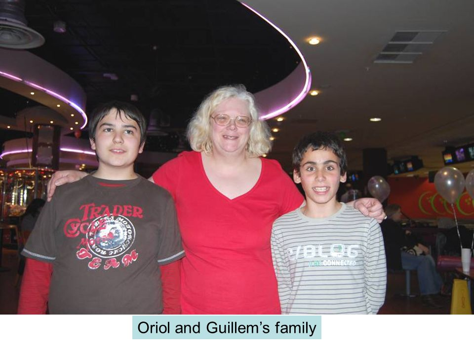 Oriol and Guillems family
