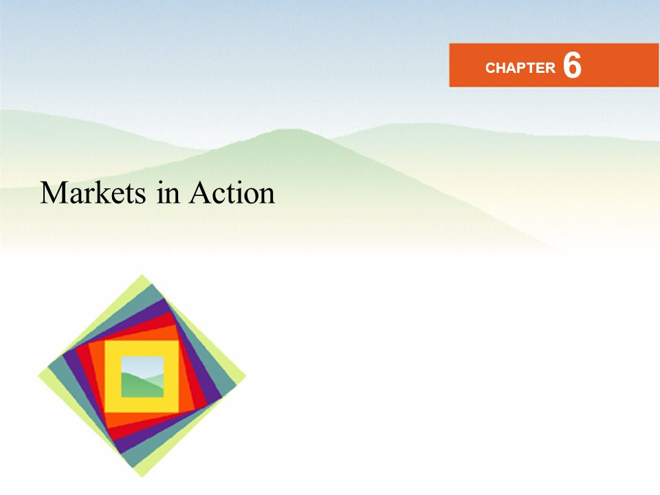 Markets in Action CHAPTER 6