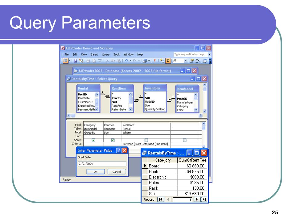 25 Query Parameters