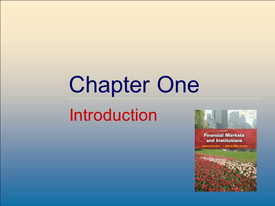 ©2009, The McGraw-Hill Companies, All Rights Reserved Chapter One Introduction
