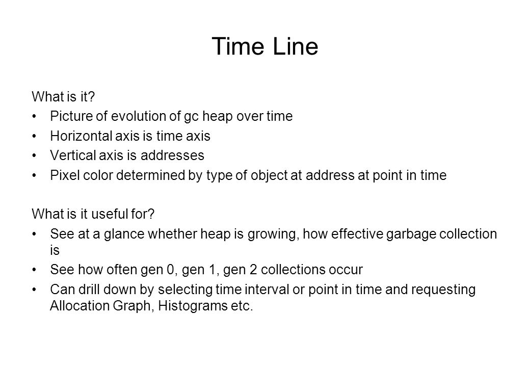Time Line What is it.