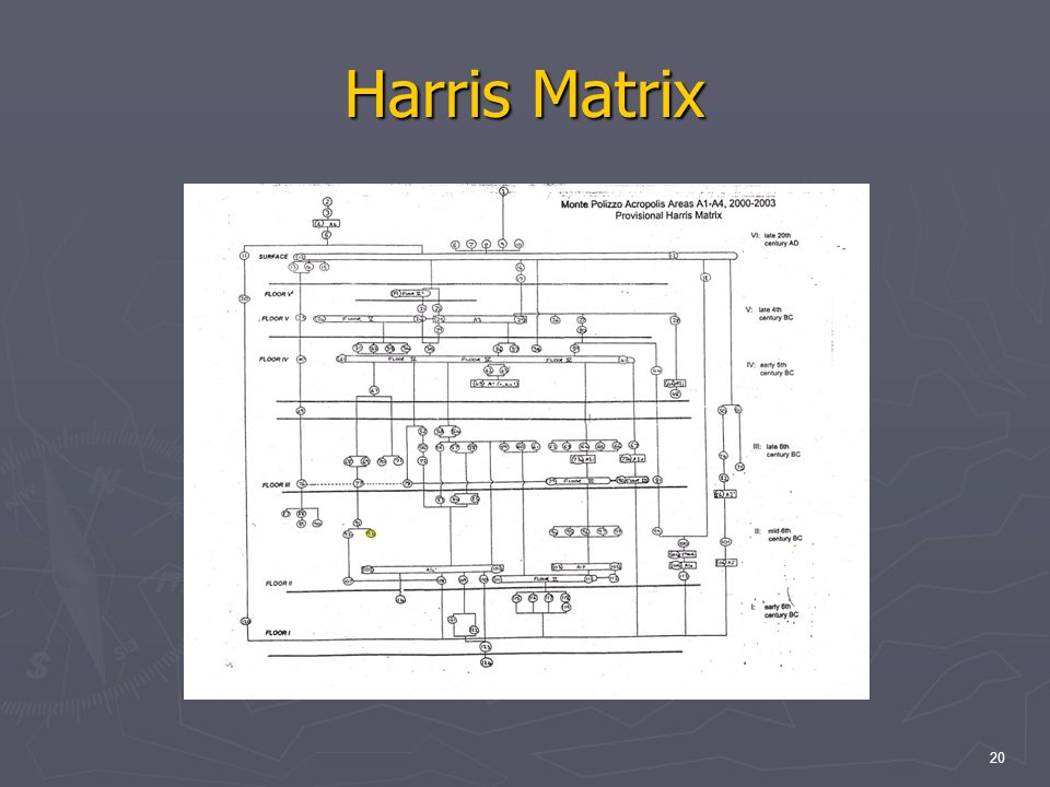 20 Harris Matrix