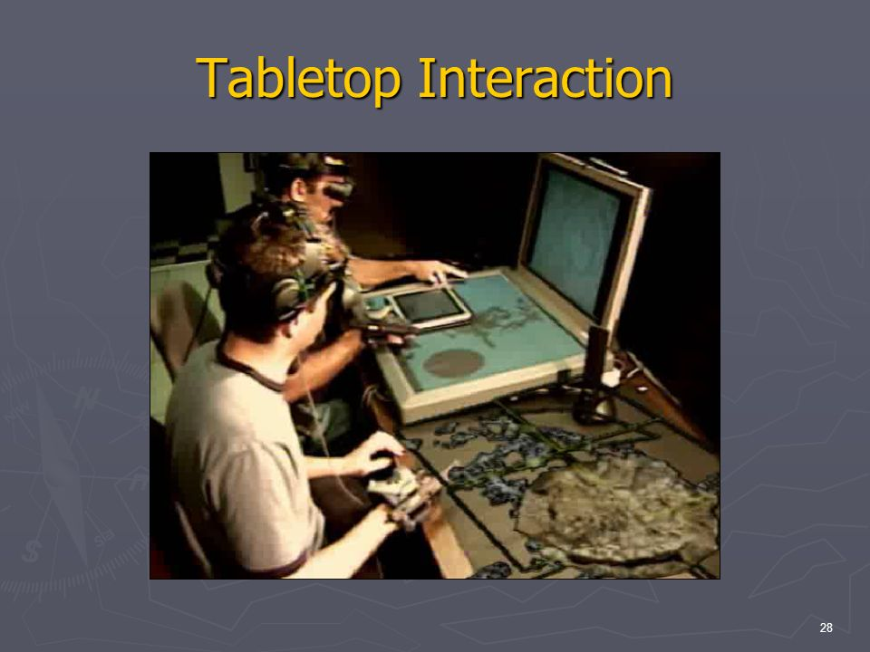 28 Tabletop Interaction