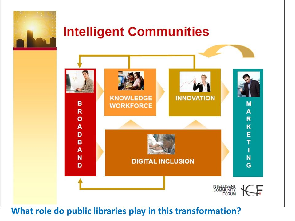 What role do public libraries play in this transformation