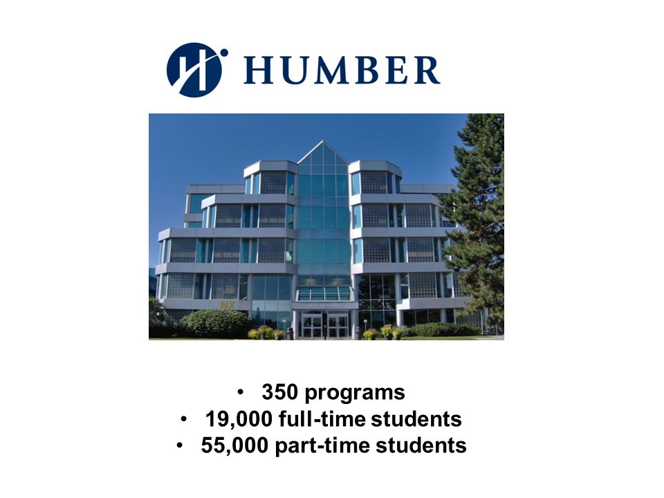 350 programs 19,000 full-time students 55,000 part-time students
