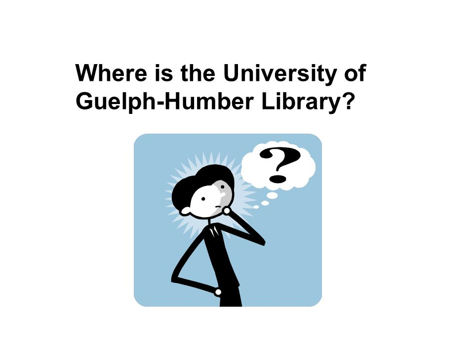Where is the University of Guelph-Humber Library