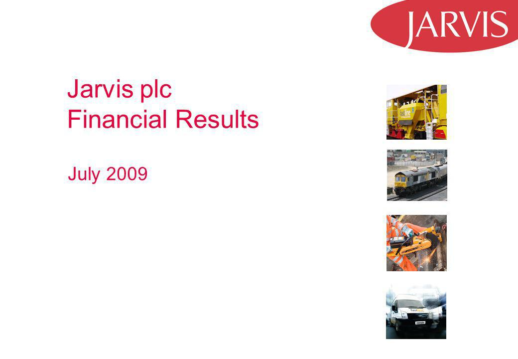 Jarvis plc Financial Results July 2009