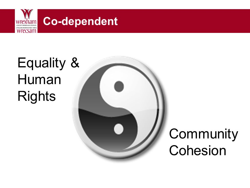Co-dependent Community Cohesion Equality & Human Rights