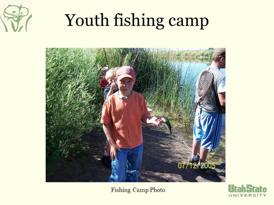 Youth fishing camp Fishing Camp Photo