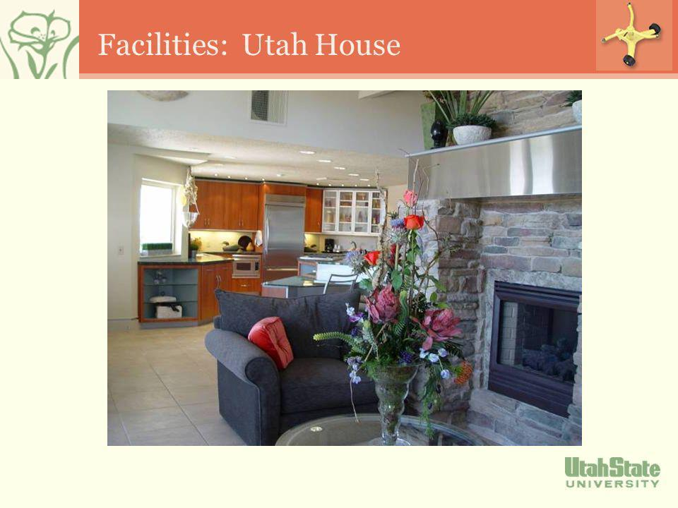 Facilities: Utah House