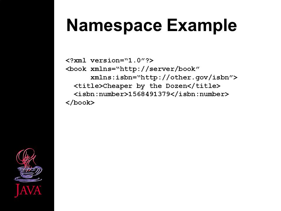 Namespace Example Cheaper by the Dozen 1568491379