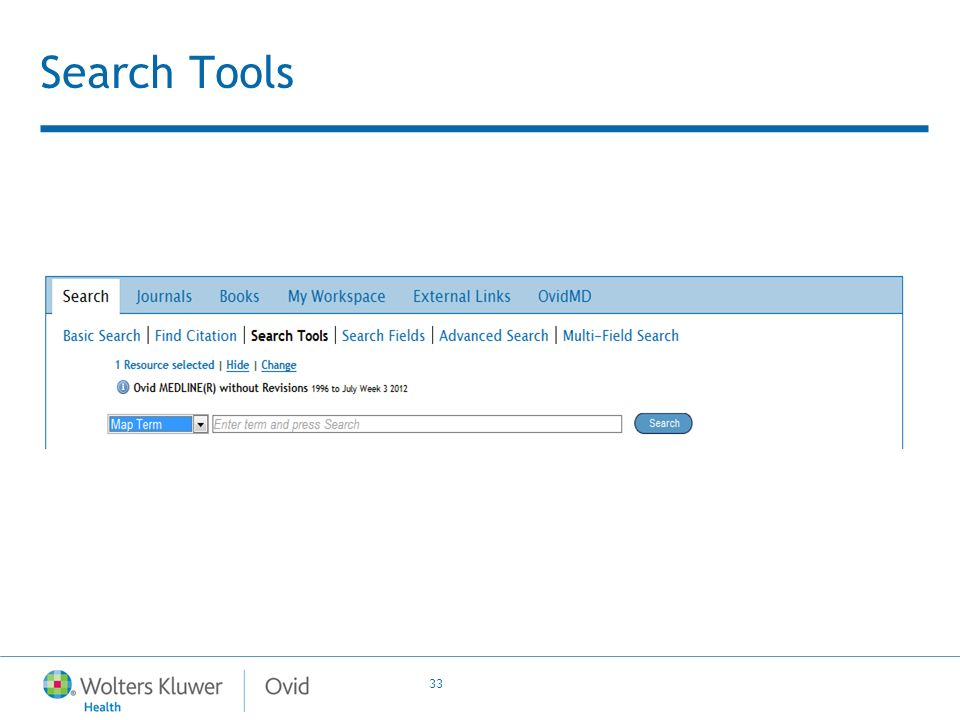 33 Search Tools