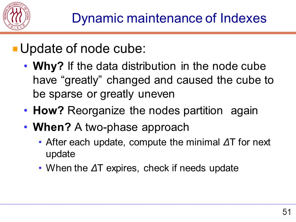 51 Update of node cube: Why.