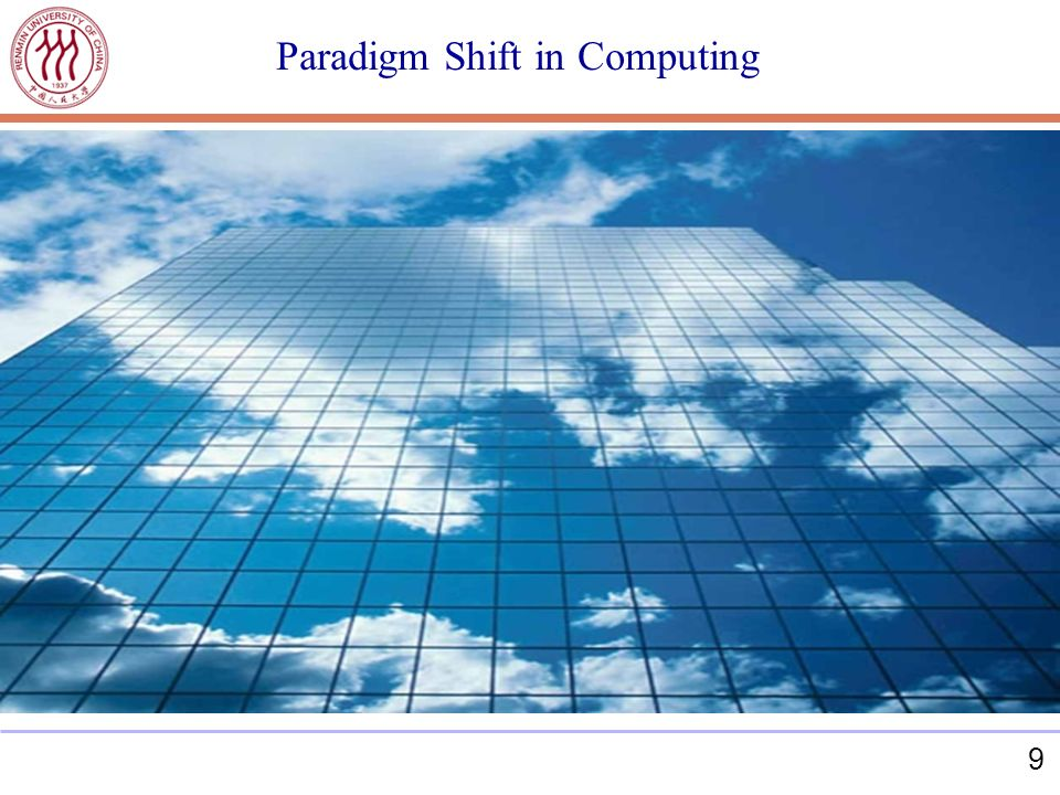 9 Paradigm Shift in Computing