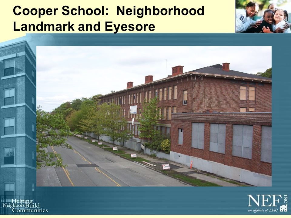 Cooper School: Neighborhood Landmark and Eyesore