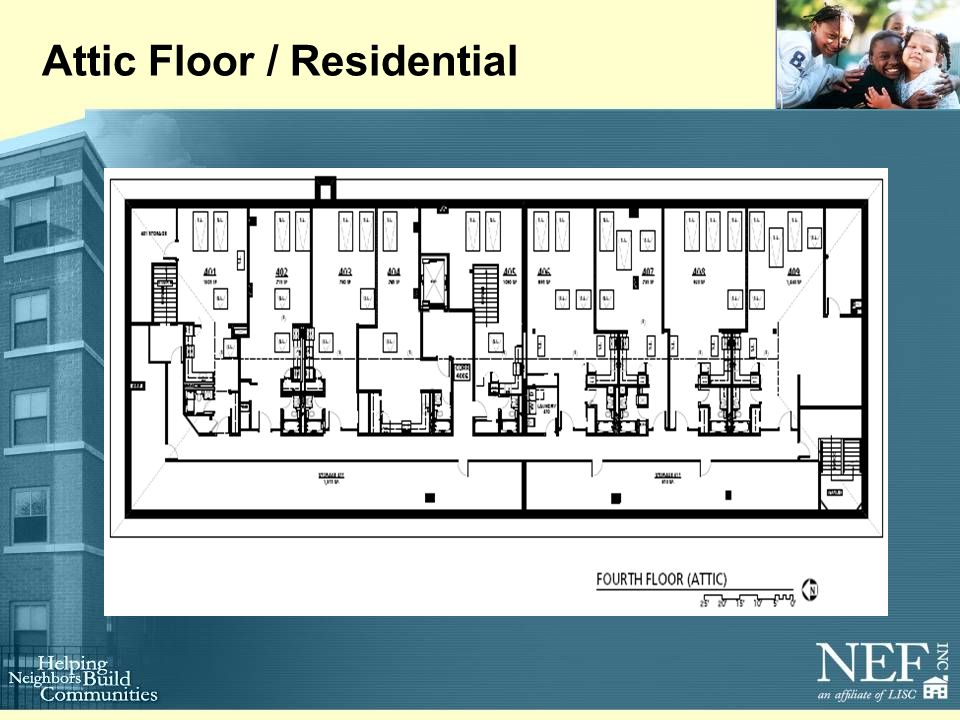 Attic Floor / Residential