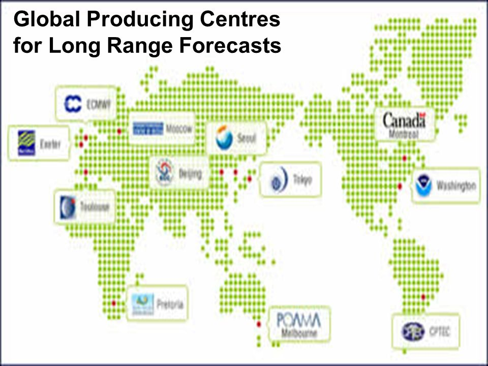 Global Producing Centres for Long Range Forecasts