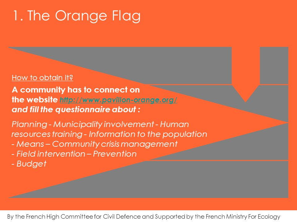 1. The Orange Flag How to obtain it.