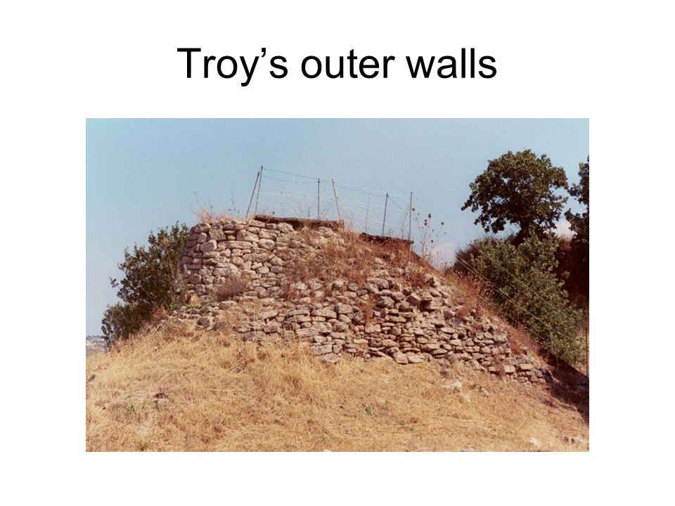Troys outer walls