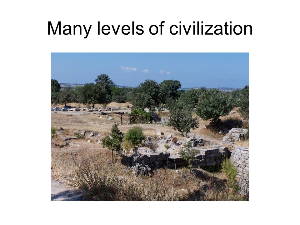 Many levels of civilization