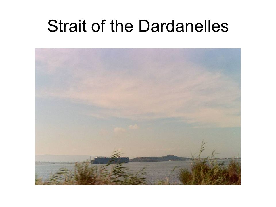 Strait of the Dardanelles