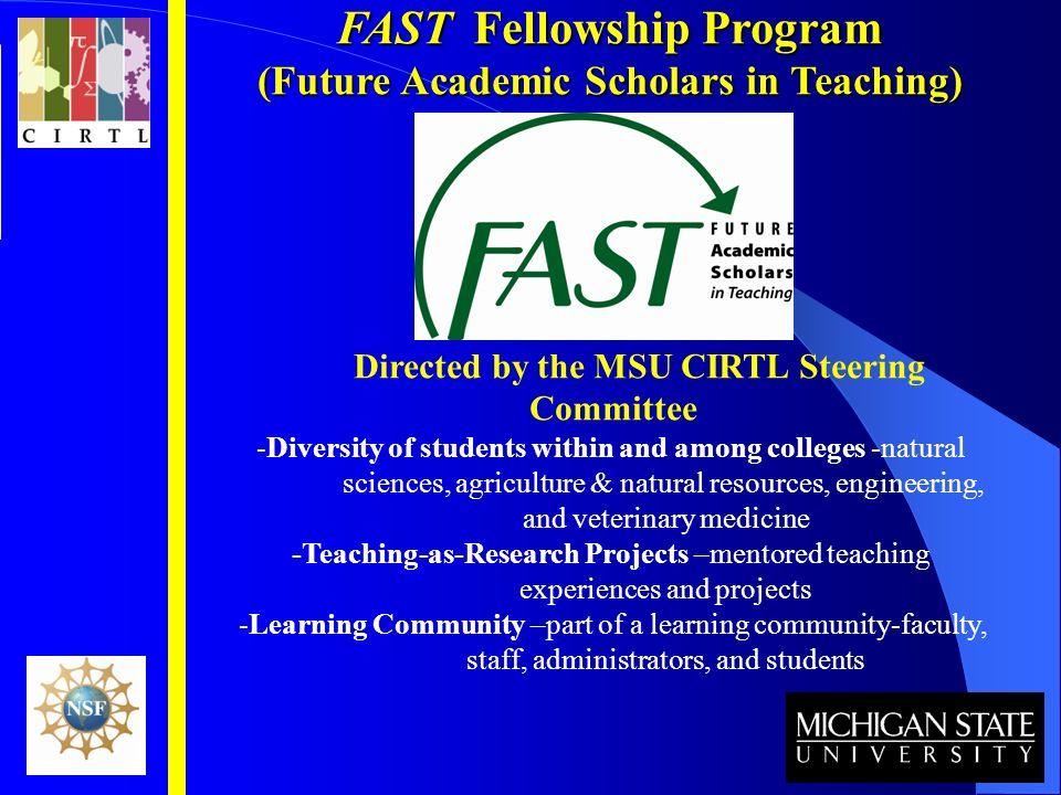 FAST Fellowship Program (Future Academic Scholars in