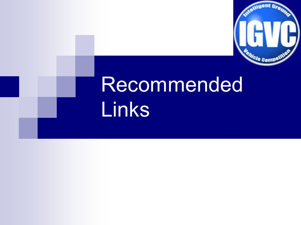 Recommended Links