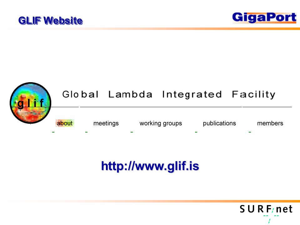 GLIF Website http://www.glif.is
