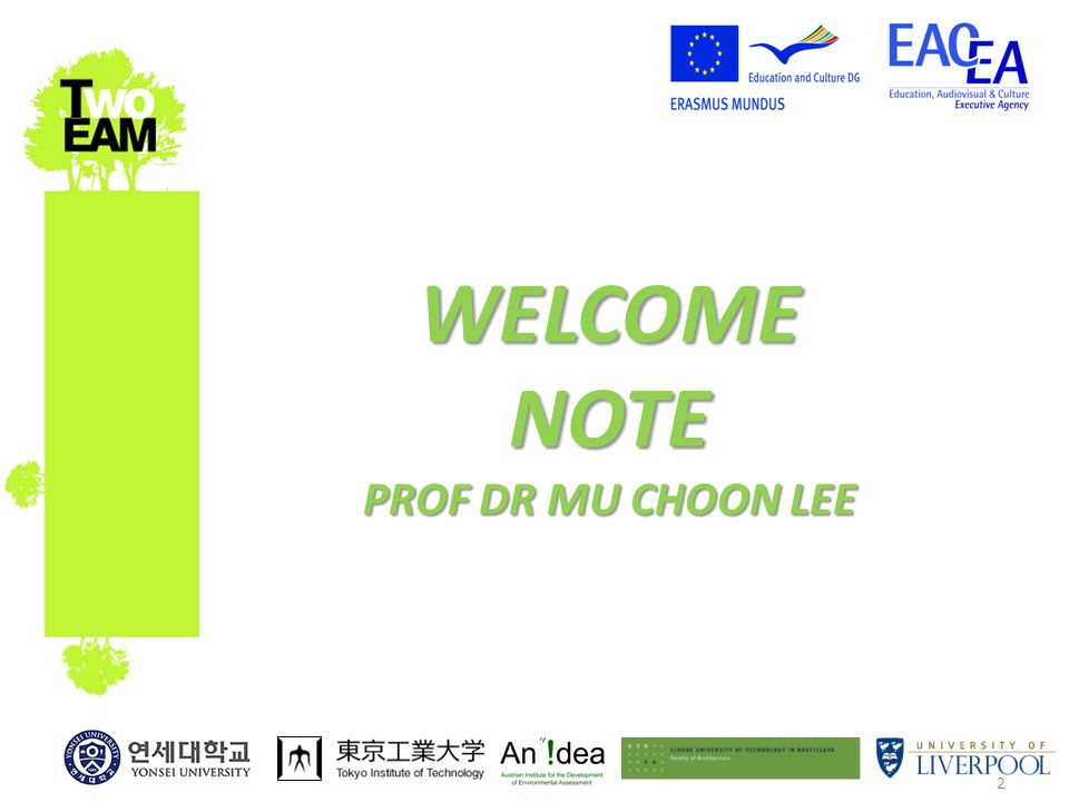 2 WELCOME NOTE PROF DR MU CHOON LEE