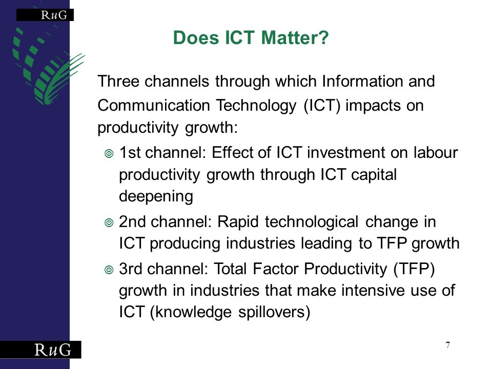 7 Does ICT Matter.