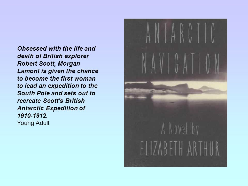 Obsessed with the life and death of British explorer Robert Scott, Morgan Lamont is given the chance to become the first woman to lead an expedition to the South Pole and sets out to recreate Scott s British Antarctic Expedition of 1910-1912.