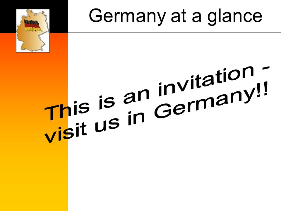 Germany at a glance
