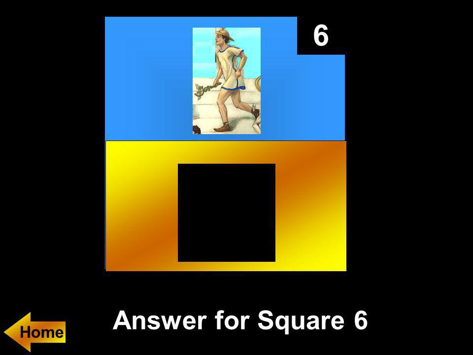 6 Answer for Square 6