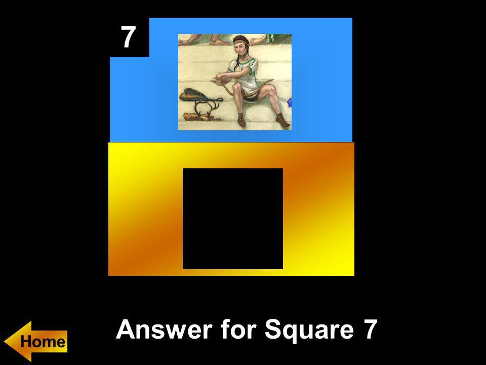 7 Answer for Square 7