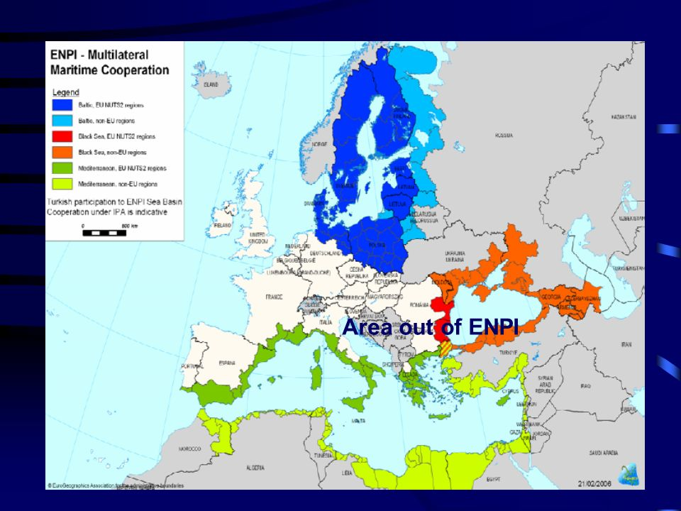 Adriatic cross border cooperation Area out of ENPI