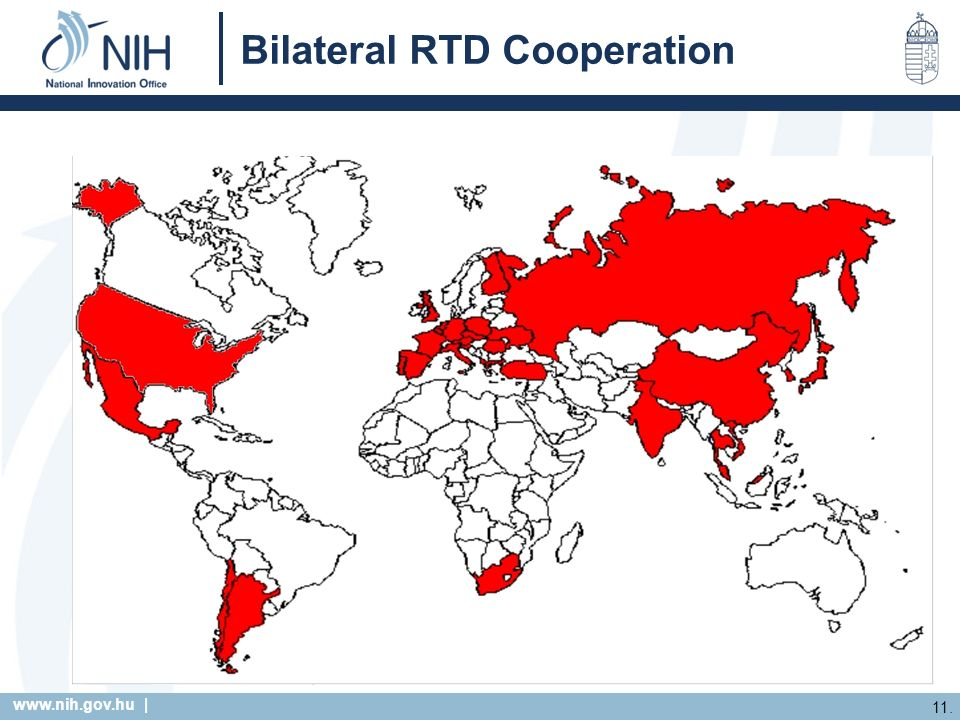 | 11. Bilateral RTD Cooperation