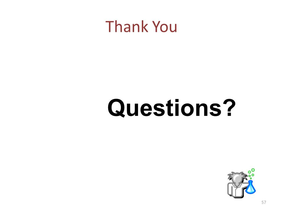 Thank You Questions 57