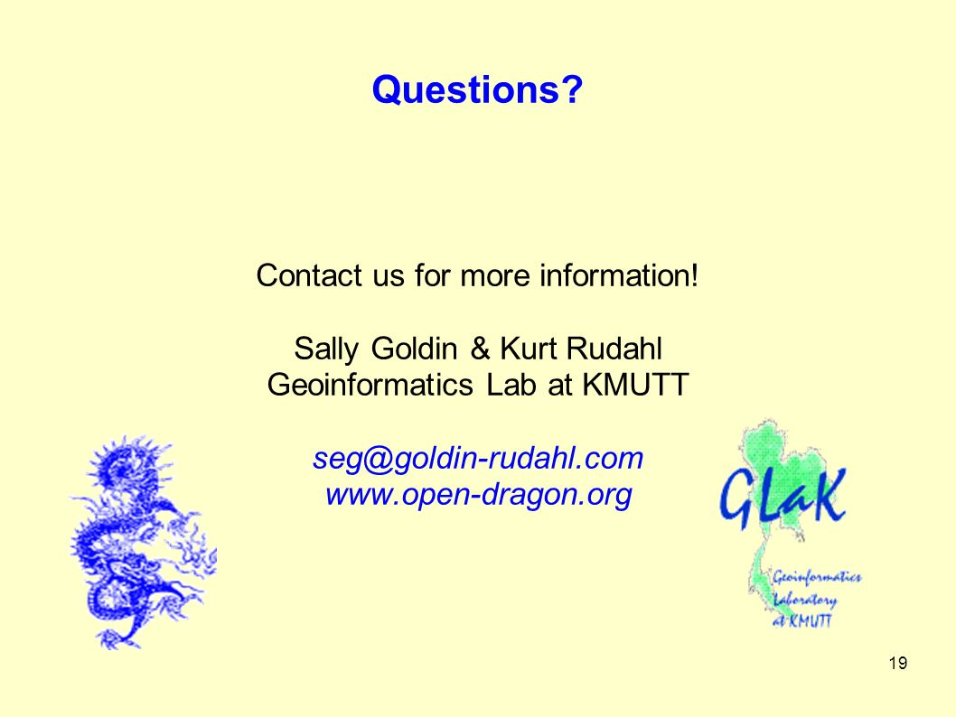 19 Questions. Contact us for more information.
