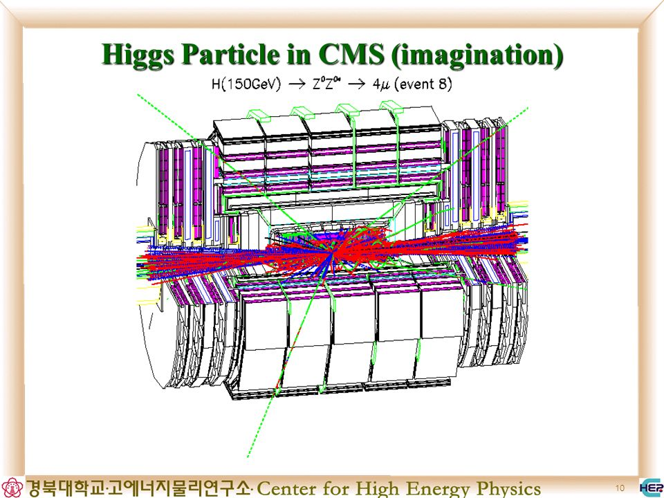 10 Higgs Particle in CMS (imagination)