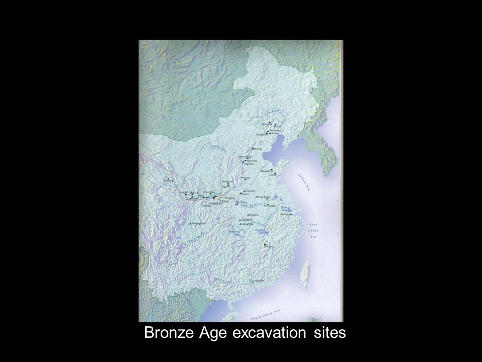 Bronze Age excavation sites