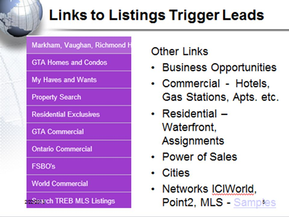 Ask to demo how listings show up that generate leads for you.