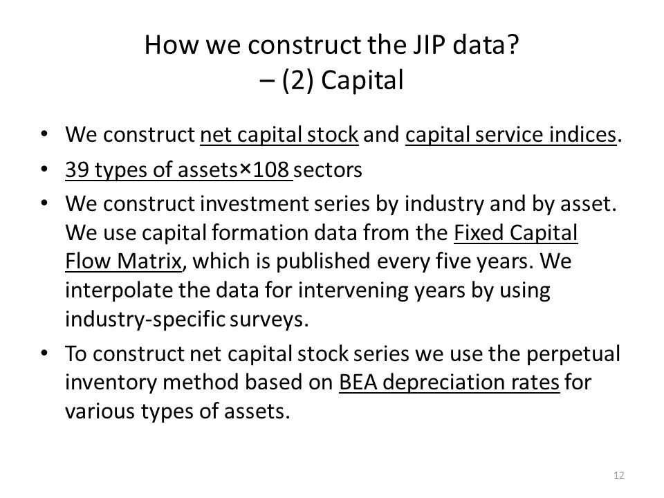 How we construct the JIP data.
