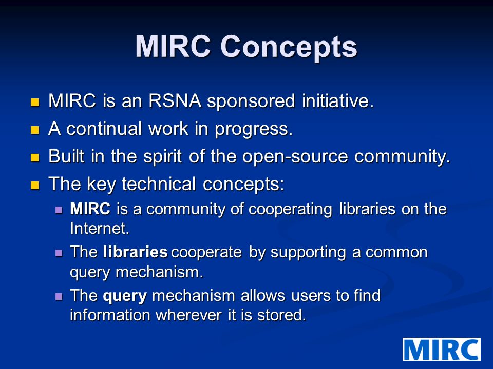 5 What Is A MIRC