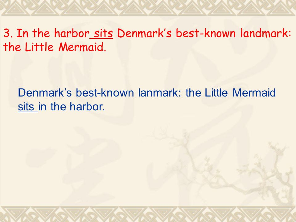 3. In the harbor sits Denmarks best-known landmark: the Little Mermaid.