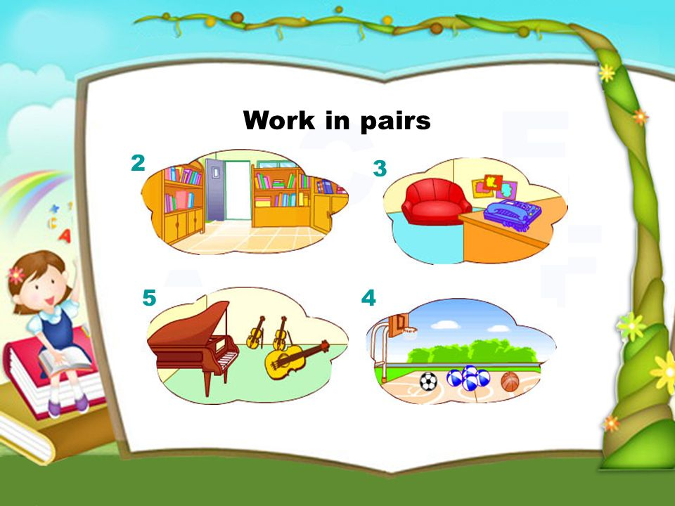 Work in pairs 2 3 45