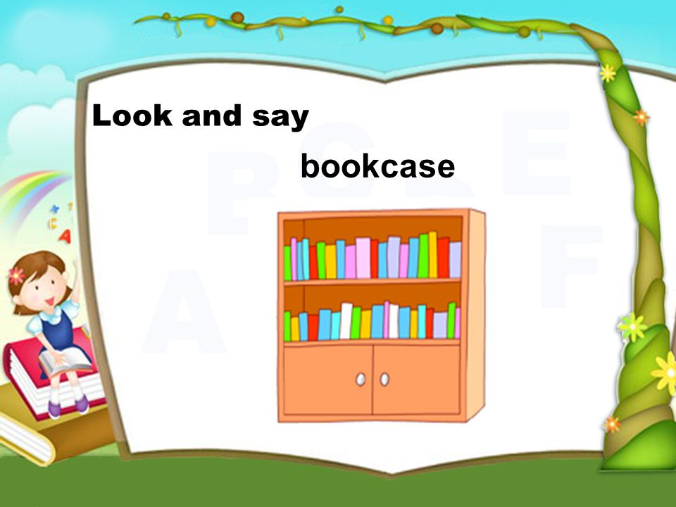bookcase Look and say