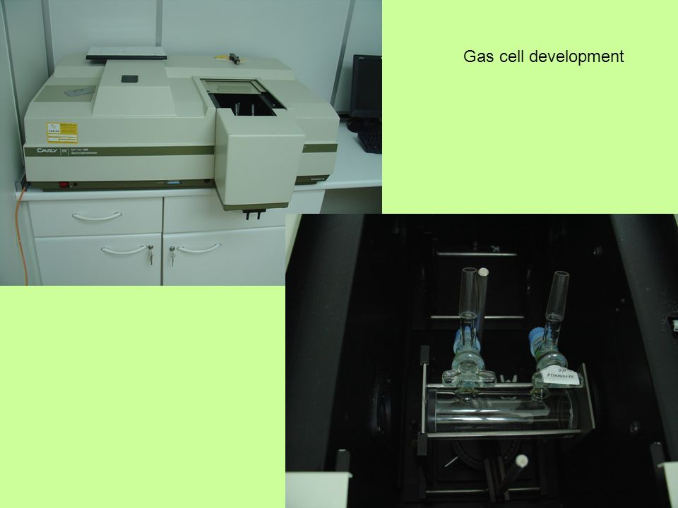Gas cell development